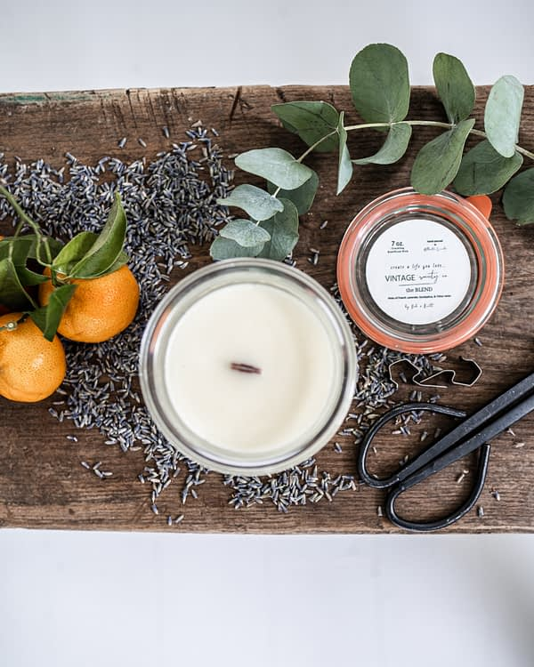 The Blend Essential Oil Candle