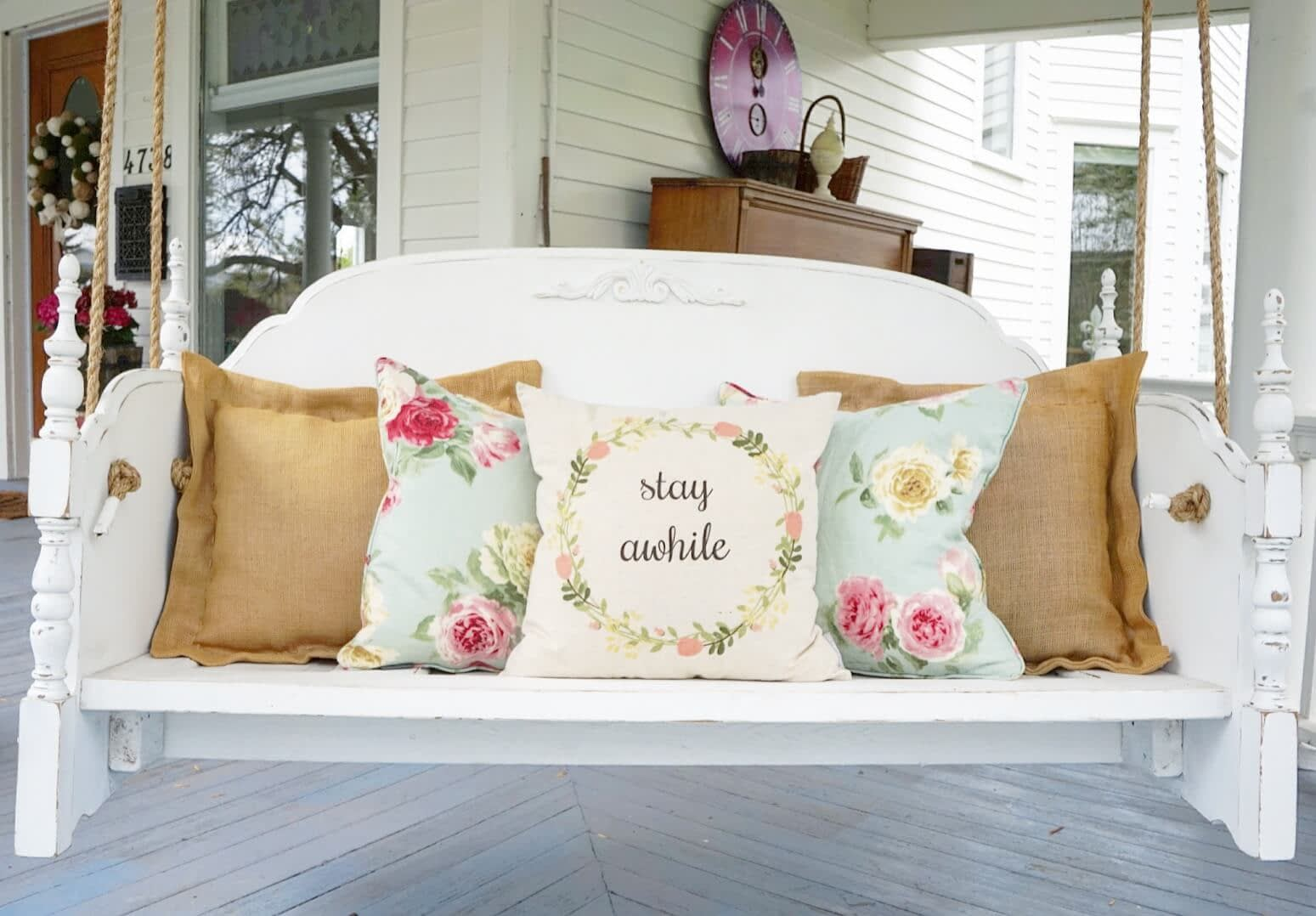 Front-View-Porch-Swing-Bed-Cushions