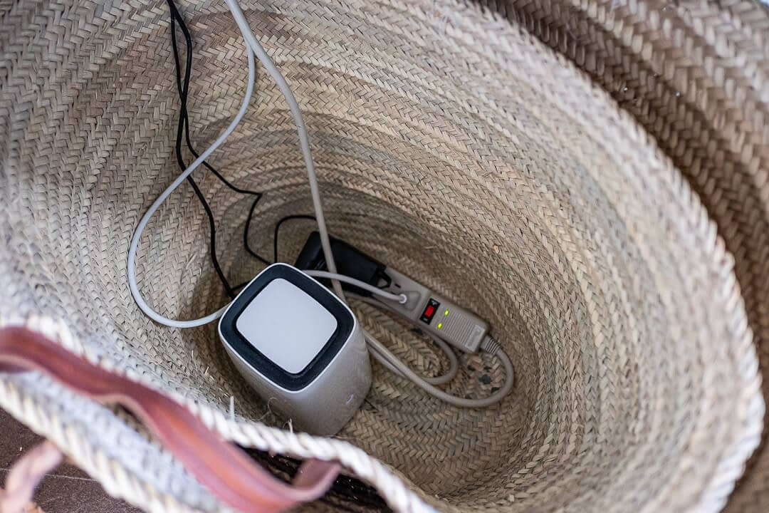 Creative ways to hide electrical cords