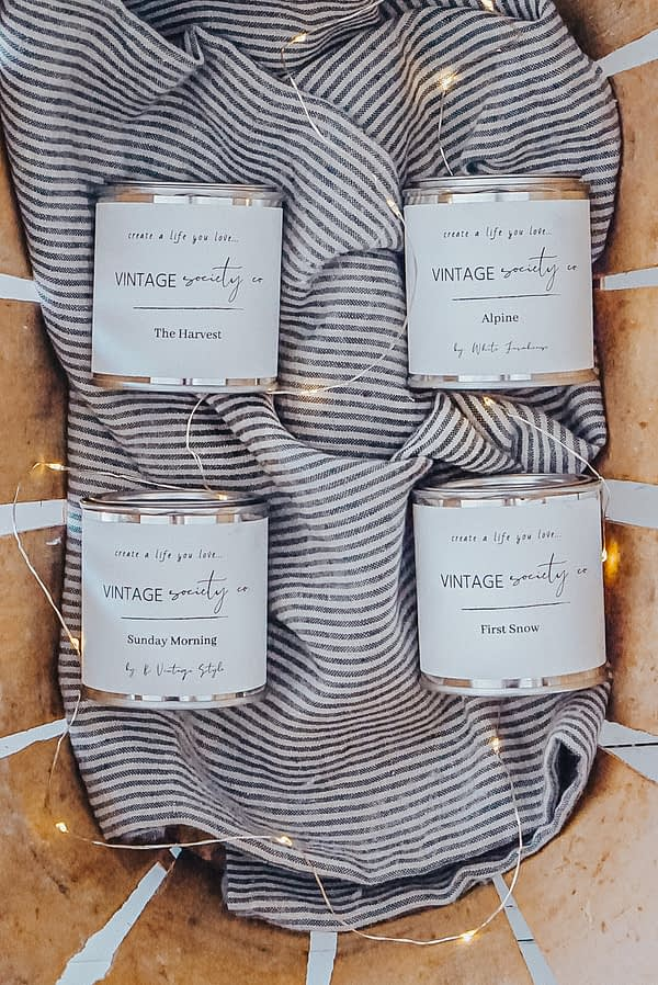 Cozy Candle Sampler 2