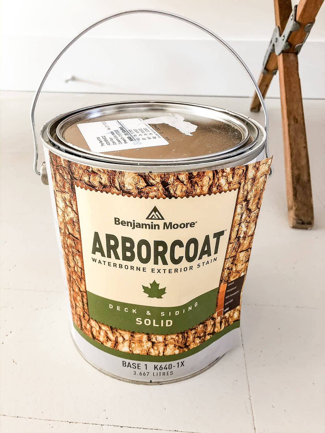 Solid Stain Paint