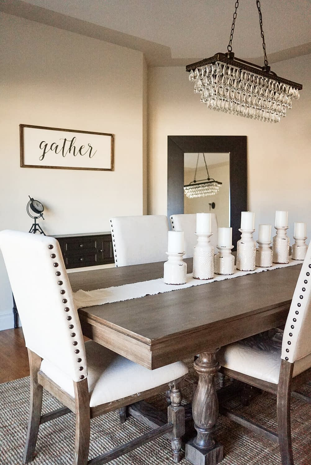 Traditional Style Home Tour Dining room