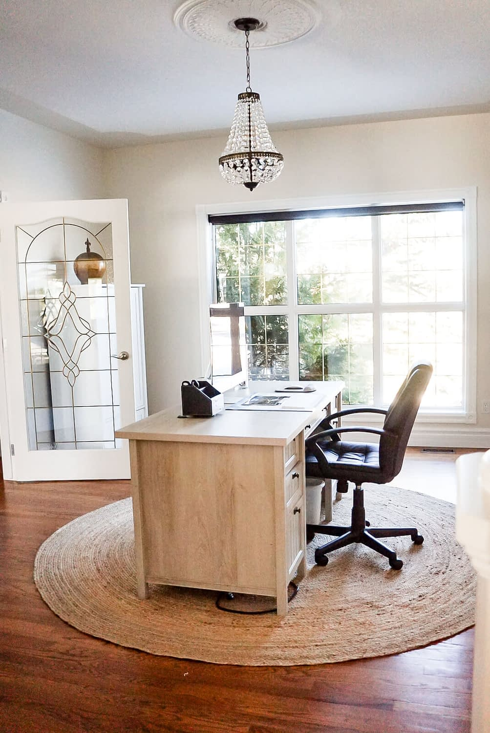 Traditional Style Home Tour office space
