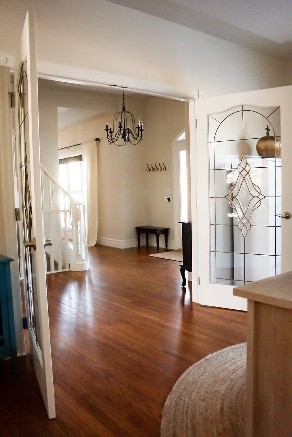 Traditional Style Home Tour french doors