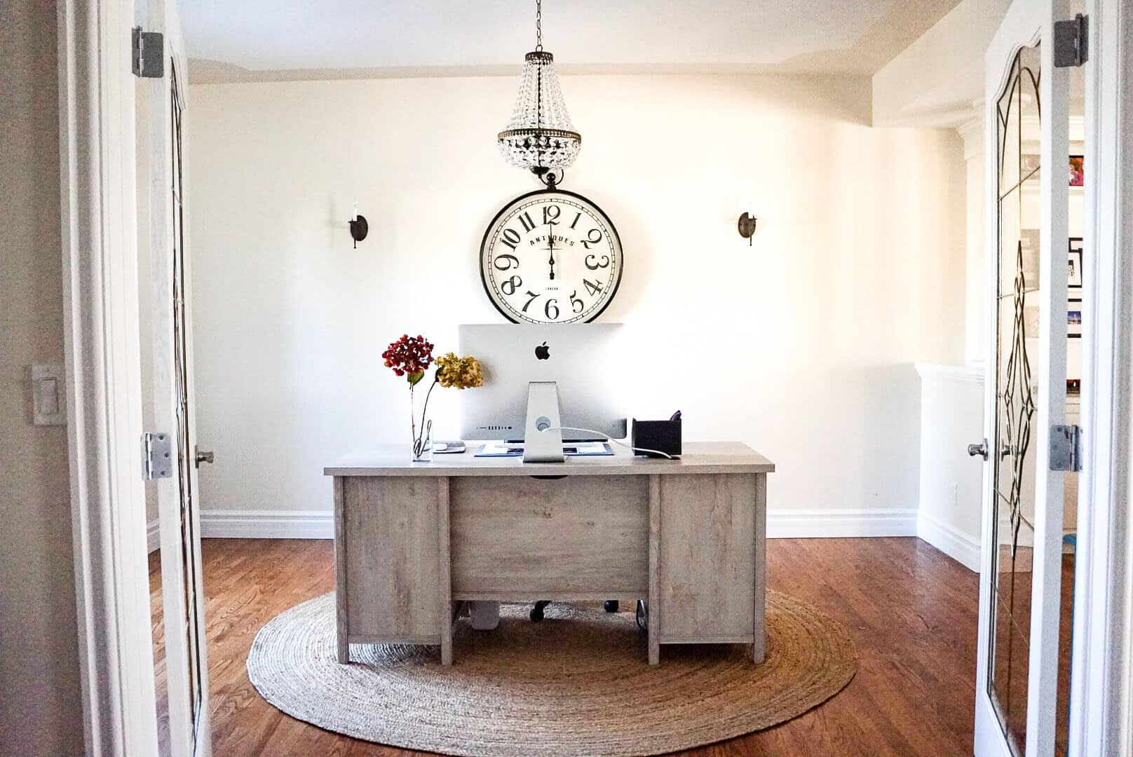Traditional Style Home Tour home office