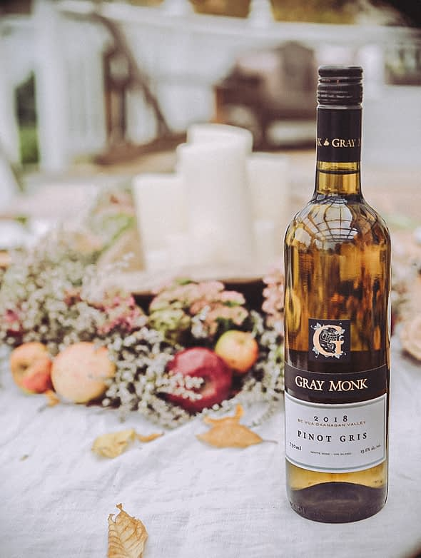 Thanksgiving essentials with Gray Monk winery