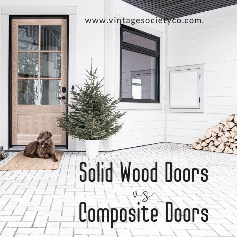 Solid Wood Doors vs Composite Doors