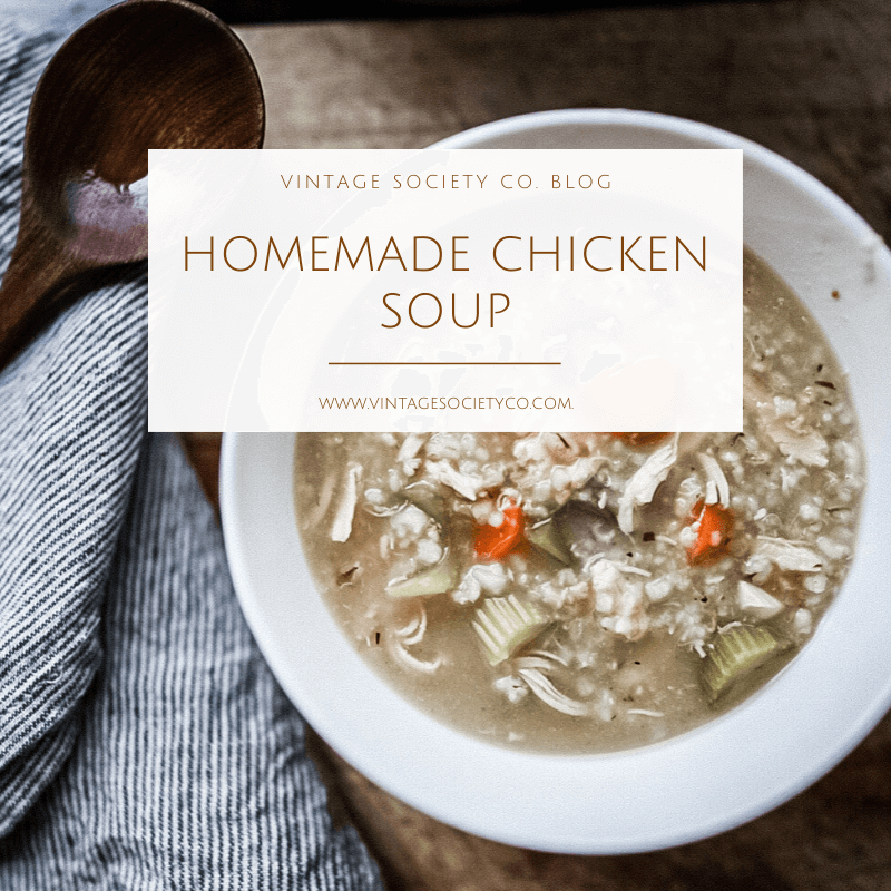 Chicken Barley Soup Square