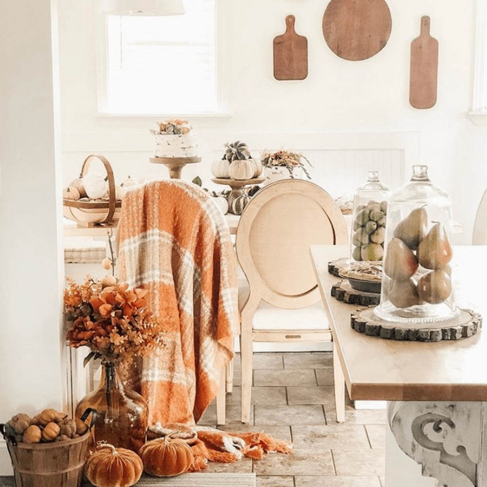 the curated farmhouse cover page