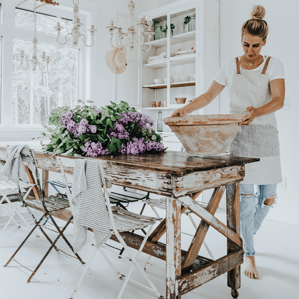Farmhouse Dining Table Cover Page