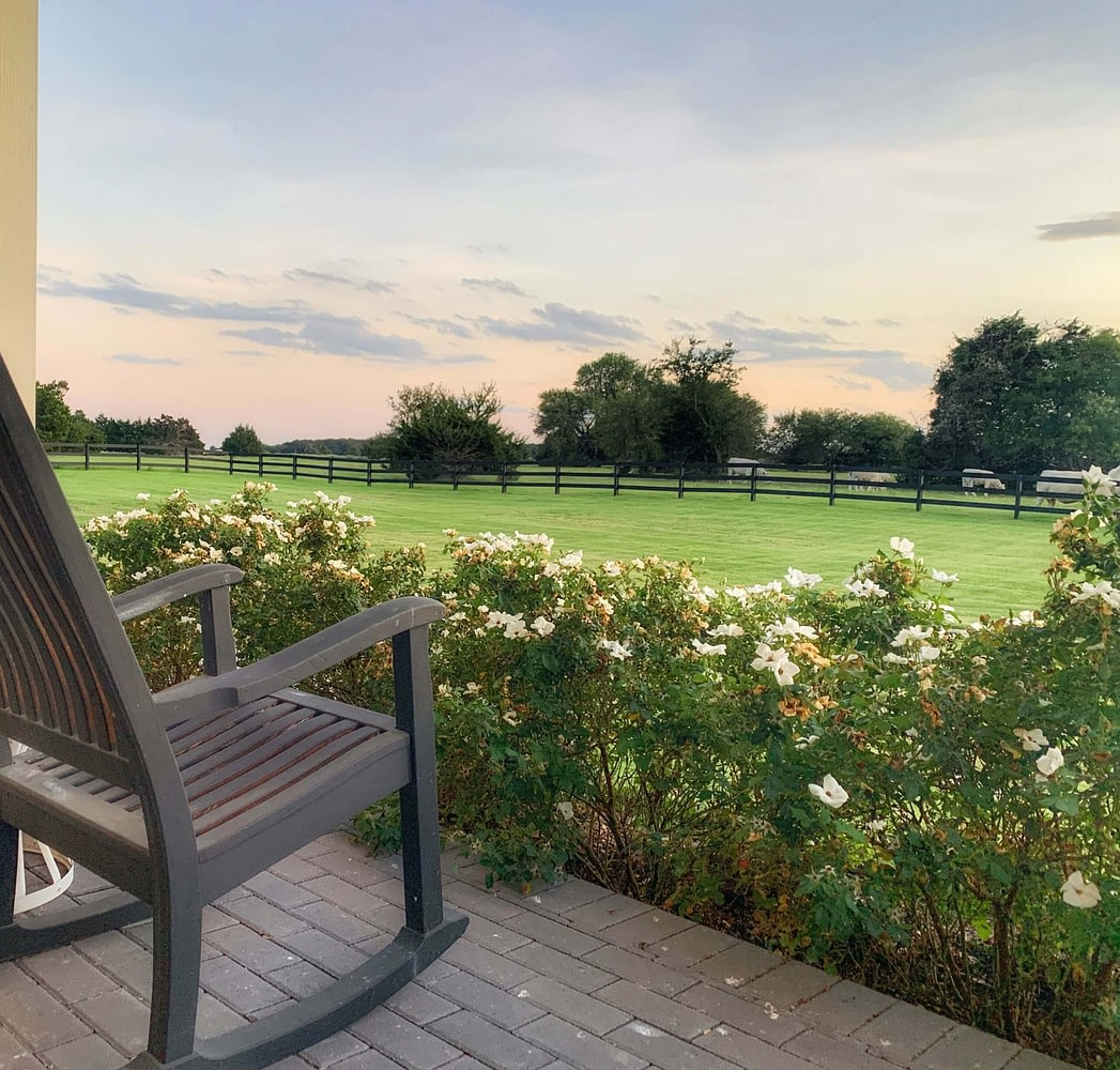 Thistle Hill Ranch and Home Front Porch Views