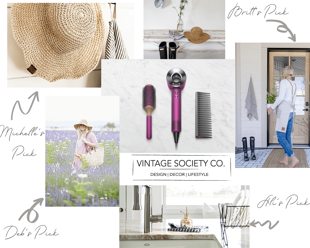 Mothers Day Gifts Mood Board