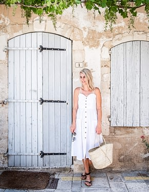 Brittany Hislop in France