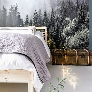 kids forest wallpaper bedroom