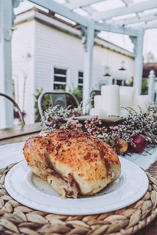 easy smoked chicken recipe for thanksgiving