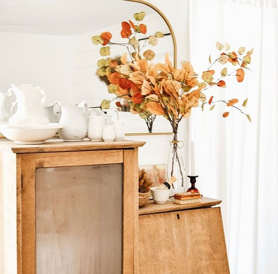 autumn colours iron stone collection by the curated farmhouse