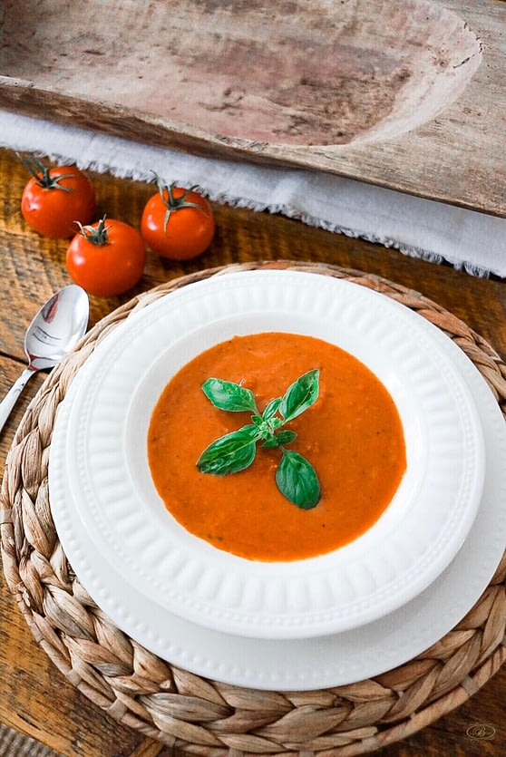 Smoked Tomato Soup From Scratch