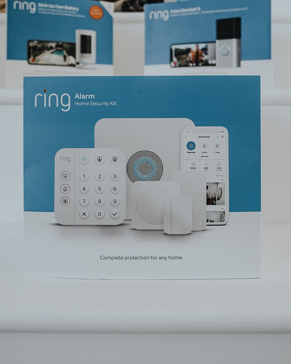 Ring Alarm in box