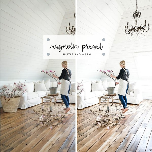 Light and airy Preset
