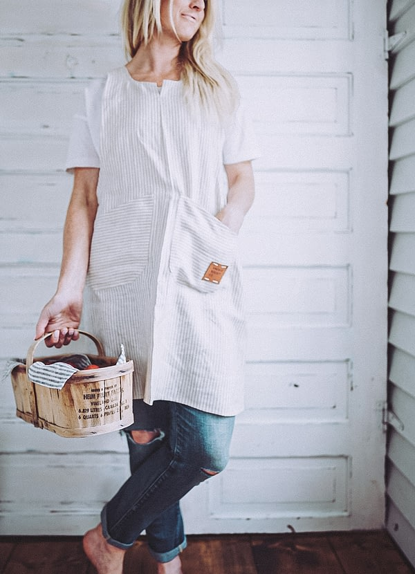 Beige-ticking-linen-pinafore-apron