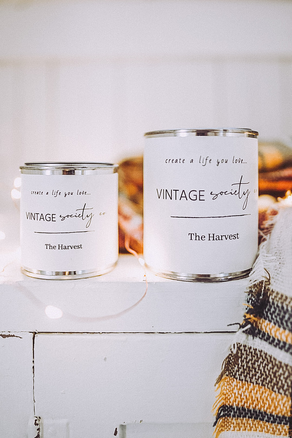 the harvest candles