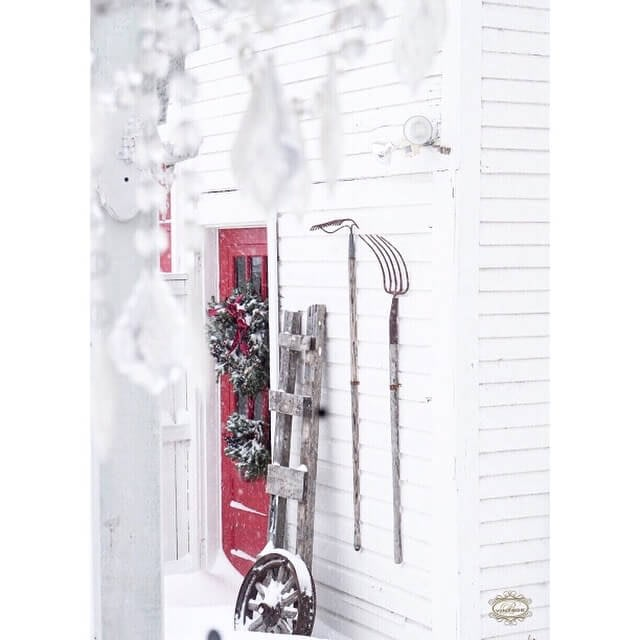 winter decor and decorations