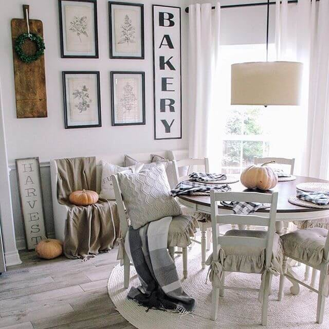 Farmhouse Chic Breakfast Nook Life by Leanna