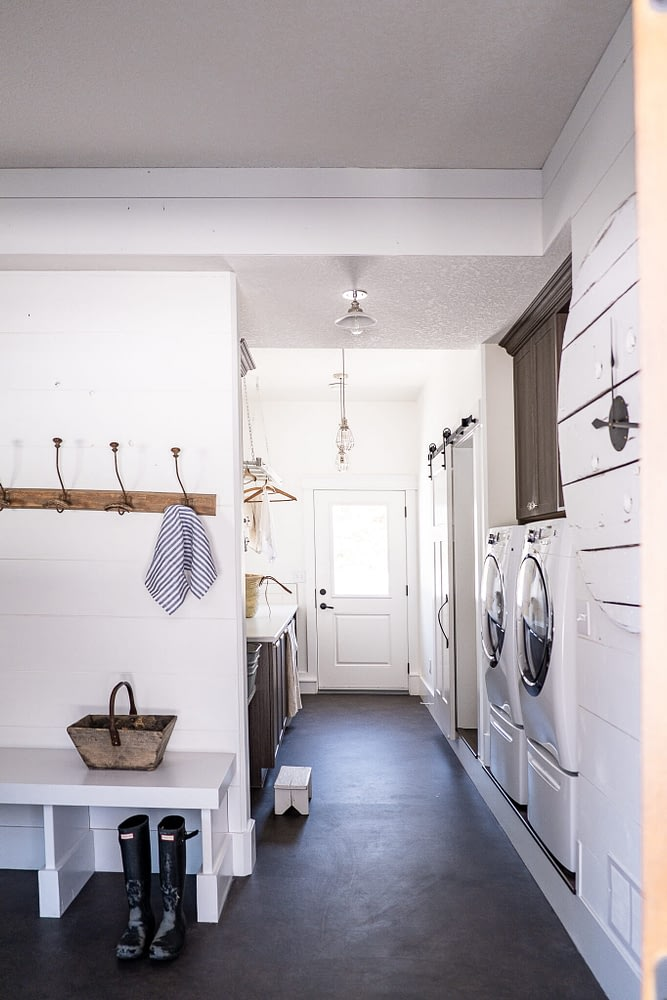 Laundry Room and Mudroom