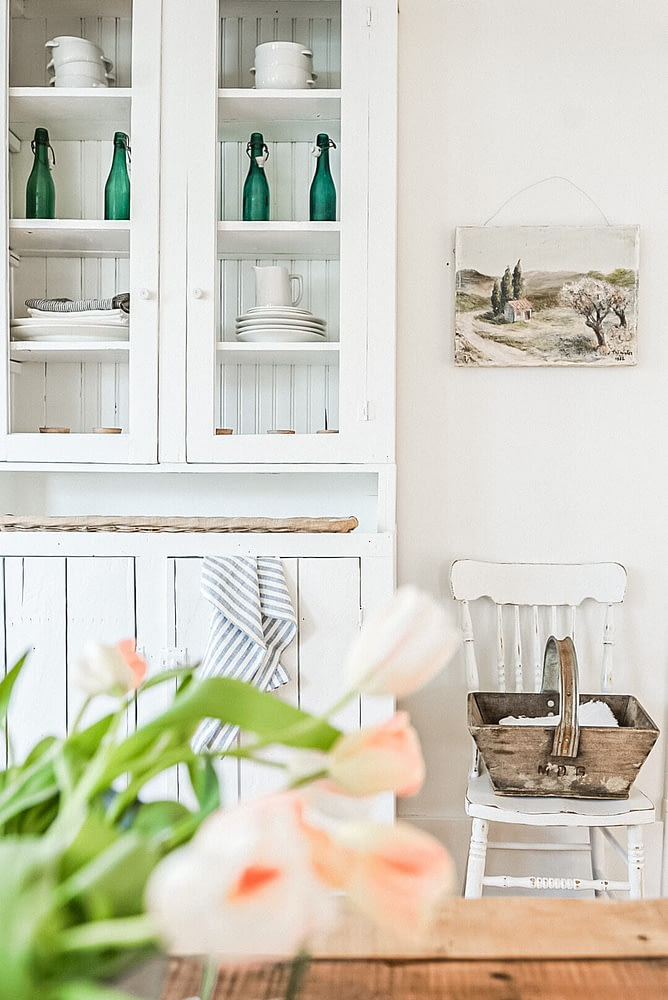 Farmhouse Dinning Hutch