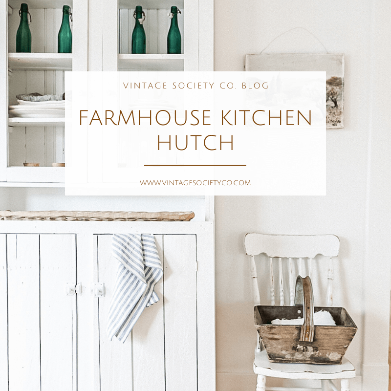 Farmhouse Hutch Title Page