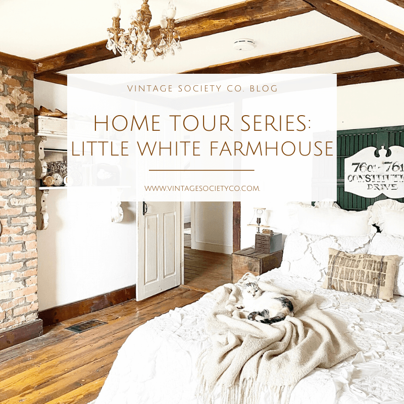 Home tour Series Little White Farmhouse