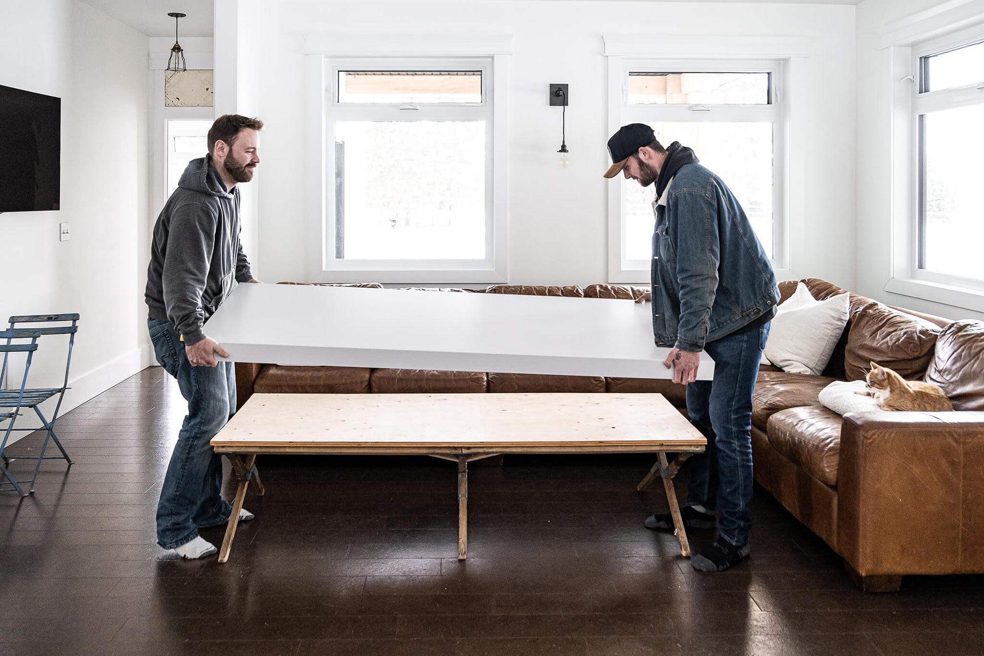 Picture of: Farmhouse Coffee Table Ideas Vintage Society Co