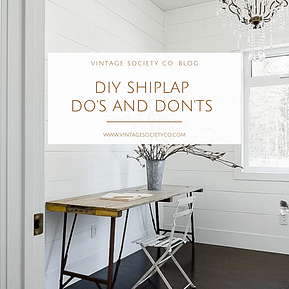 diy shiplap do's and don'ts