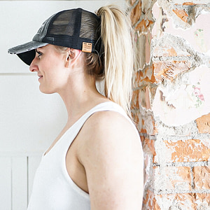 The Vintage Ponytail Ball Cap