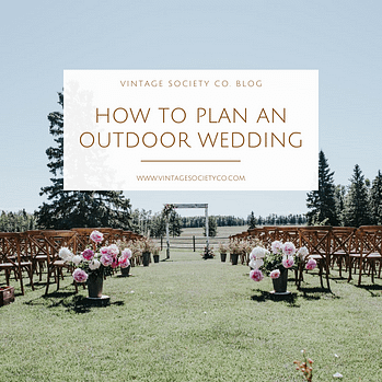 outdoor wedding square
