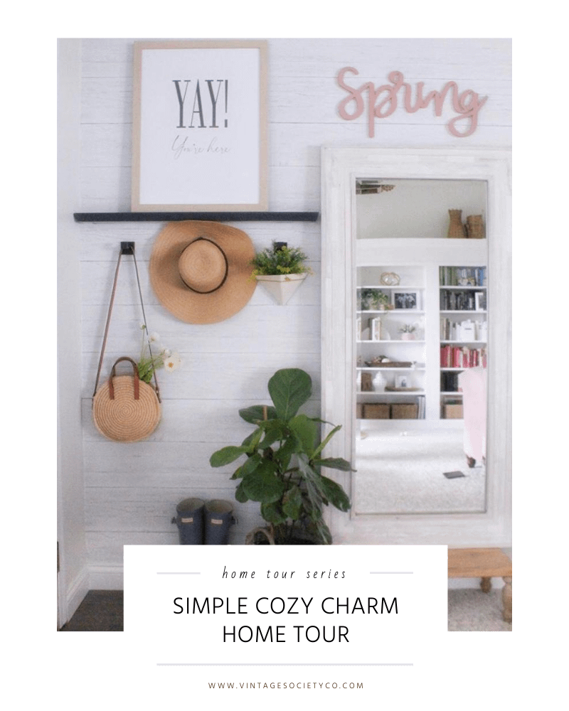 simple cozy charm home tour